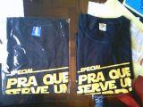 Embalagem Plástico De Camisa Jardim Guarani