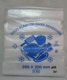 Embalagem Transparente Polietileno Jardim Quarto Centenário